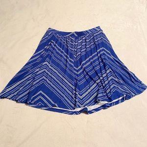 Old Navy Midi Blue Skirt
